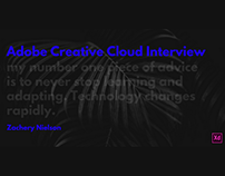 Adobe Creative Cloud Interview 2017