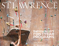 St. Lawrence University Magazine - Winter 2017
