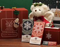 Christsmas Chocolate Gift Box & Bear