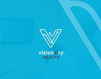 Healthcare Lettermark logo for Visionairy