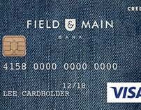 Field & Main: Debit Card Designs