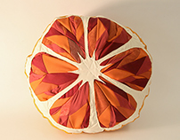 Blood Orange Pillow