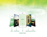 Thesis App Design. App name: MUSAFIR