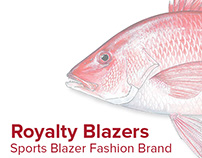 Royalty Blazers Branding Project