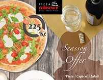 Season Offer - Pizza Coloseum
