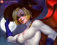 PowerGirl Halloween