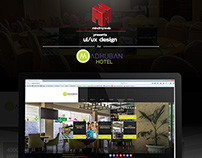 Web design for Madhubanhotels.com