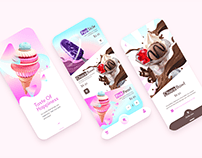 Ice Сream Delivery Mobile App
