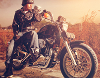 Photography - Advertising (Harley Davidson)