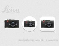 LEICA CAMERA ICONS for Mac OS v1.01 Update [ICNS]