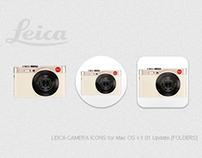 LEICA CAMERA ICONS for Mac OS v1.01 Update [FOLDERS]