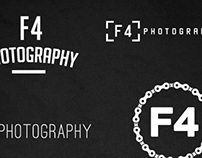 F4 Photograhy logo designs
