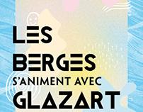 Flyer / Les Berges s'animent avec Glazart