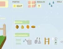 Diseño e Ilustración para juego online.