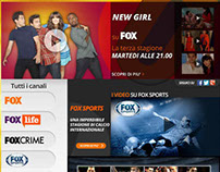 Cobrand FOX CHANNEL - Homepage virgilio.it