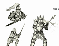 Knight Logo design