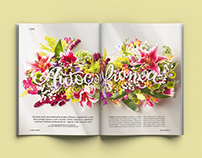Flowers Spreads: Bons Fluidos Mag
