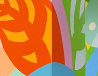 "Wall painting mall ""Rainbow"""