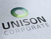 Unison: Corporate Stationary, Invoice and Identity