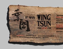 Outdoor Sign for Ip Man Wing Tsun