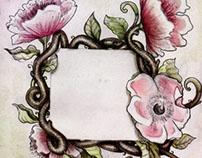 Wild Roses Illustration