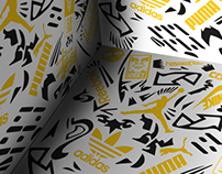 Pattern brand box