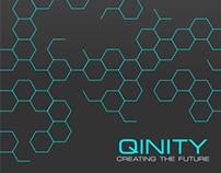 qinity фирменный стиль