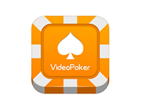 VideoPoker icon design