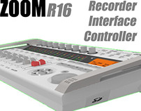 Solidworks - ZOOM R16 Mixing Desk