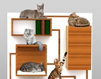 Multifunctional cat furniture