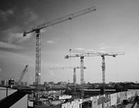 sky of crane(s)
