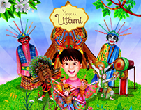 Picture Book Series: Traditional Culture of Indonesia