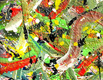 Iman D. Abstrato, Number II 2013 30x40cm
