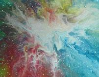 Iman D. Abstrato Nebbu 40x40cm