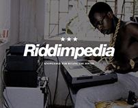 RIDDIMPEDIA | Brand Identity & UI/UX Concept Design