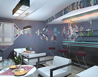 "Design concept of cafe ""Skandy"""