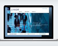 Lyxor Asset Management website