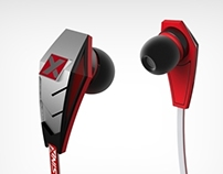 SIN-X bluetooth earphones