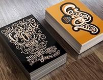 Cooper Olson Business Card Design