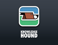 Knowledge Hound UI Design Concept+Logo