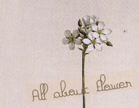 Flower shop's namecard
