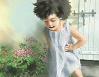 Watercolor Children's Portraits