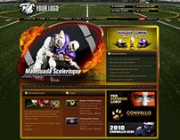 Sports Portal Template