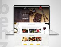 Behzat Restaurant Web Arayüz Tasarımı