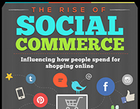 Infographic : The Rise Of Social Commerce