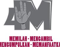 4M, MEMILAH-MENGAMBIL-MENGUMPULKAN-MEMANFAATKAN