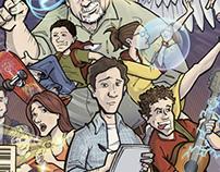 Poster & Comic Illustration : Hero: The Musical
