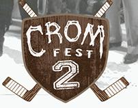 Crom Fest 2 Logo Design