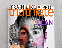TRIATHLETE Magazine Mock-up
