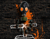Mutant Army Postcard